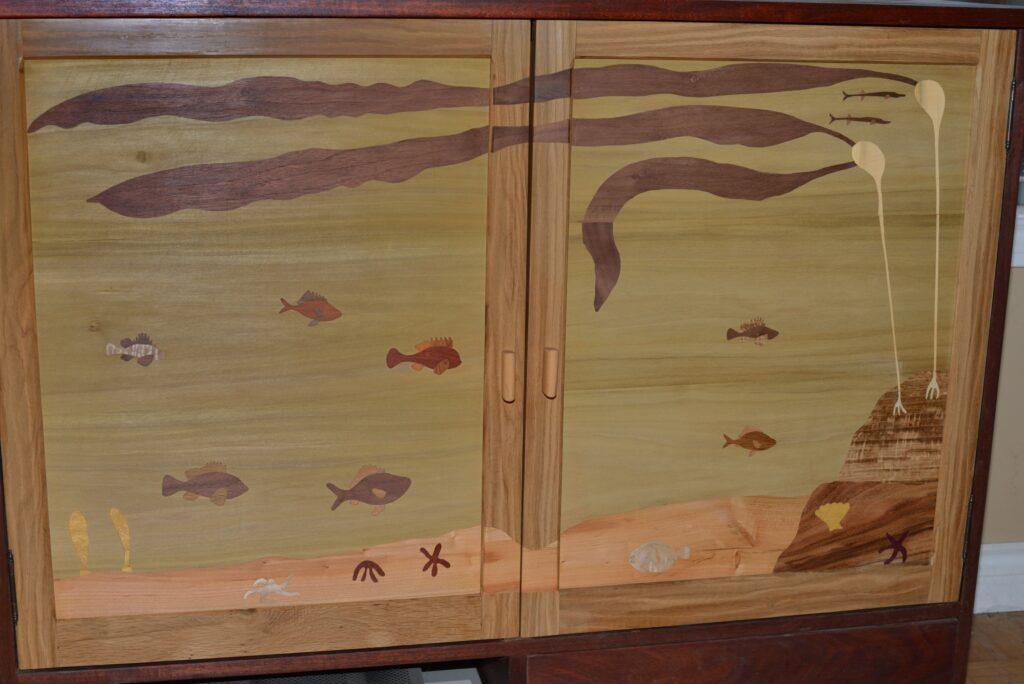 TV cabinet doors